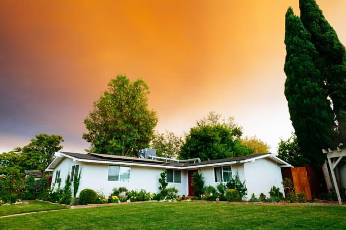 divide the marital home